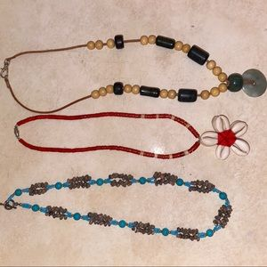 Handmade Mexican Necklace Bundle
